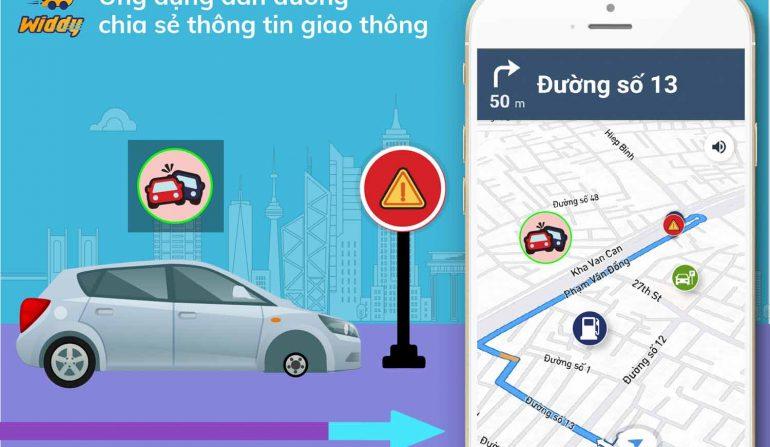 Di chuyển nhanh hơn với tính năng cảnh báo giao thông tiện lợi