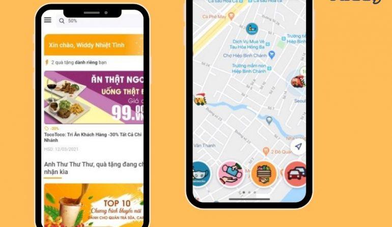 Widdy ứng dụng mạng xã hội giao thông cho tài xế việt