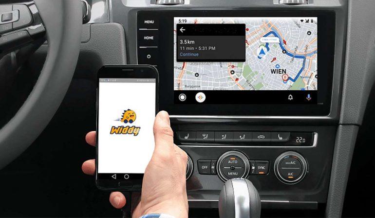 Android auto tính năng điều hướng tự động trên xe
